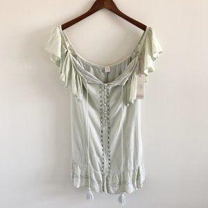NWT Ale Alessandra x Revolve Gisella Dress Sage S